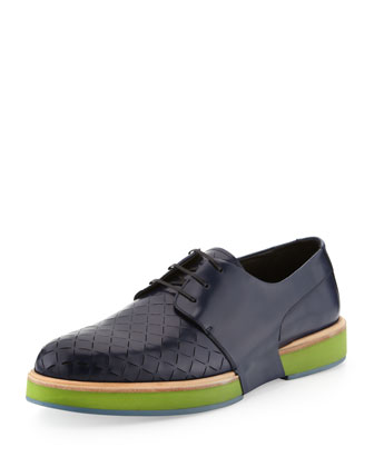 Rainbow 2 Perforated Runway Oxford