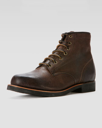 Arkansas Mid Boot, Dark Brown