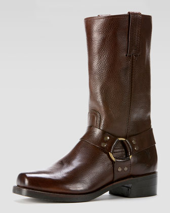 Harness 12R Boot, Dark Brown