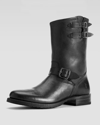 Rand Engineer Boot, Black