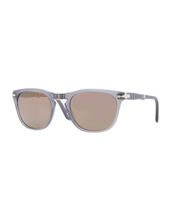 Plastic Folding Sunglasses, Gray