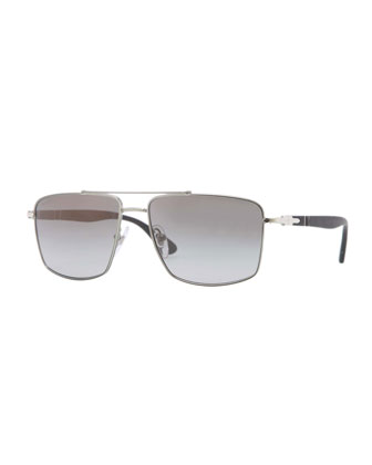 Pilot Sunglasses, Gunmetal