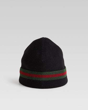 Knit Cap, Black