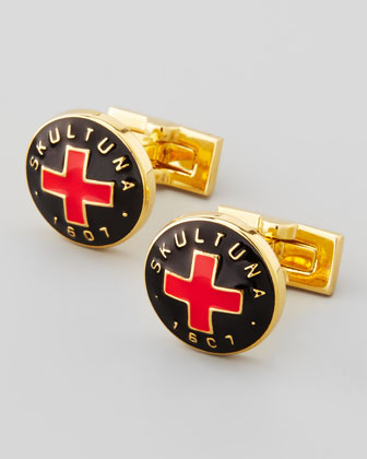 Skultuna Cross Cufflinks