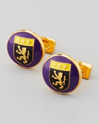 Lion Crest Cufflinks