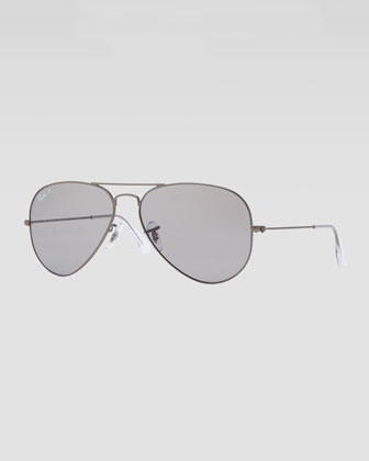 Original Aviator Sunglasses, Gunmetal/Gray