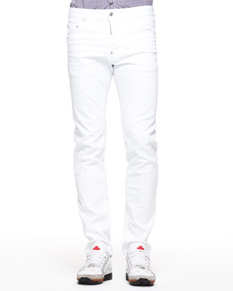 Coolguy Slim Jeans, White