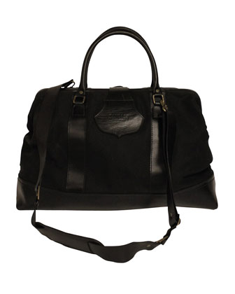 Stefan Overnight Bag, Black