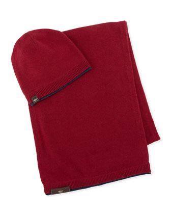 Hat & Scarf Box Set, Red