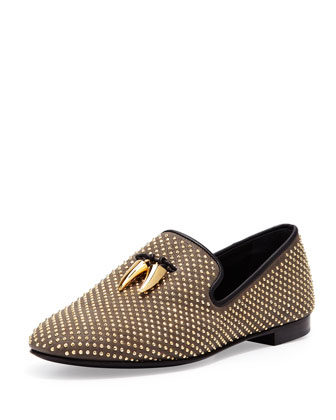 Men's Studded Toggle Slipper, Vaky Kaky