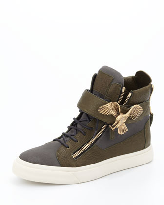Men's Golden Eagle High-Top Sneaker