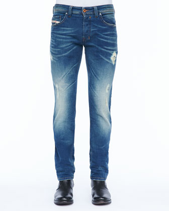 Safado Five-Pocket Jean, Medium Wash