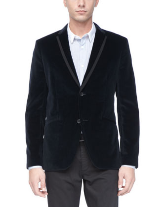 Velvet Sport Coat, Eclipse