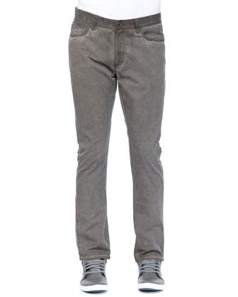 Bowery Denim Pants, Dark Olive
