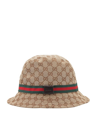 GG Bucket Hat, Beige