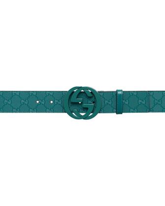 GG Imprime Belt, Verdant