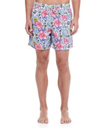 Moorea Hawaii Swim Trunks