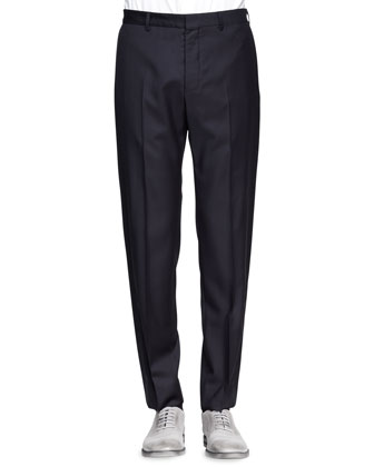 Tuxedo Pant with Side Stripe, Navy