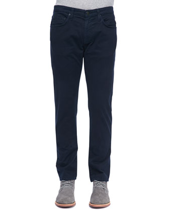 Kane Straight-Leg Jean, Carbon Blue