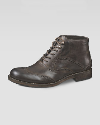 Wesley 1000 Mile Wing-Tip Chukka Boot, Brown