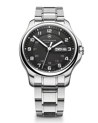 Officer's Day Stainless Steel Watch