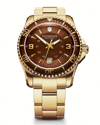 Maverick GS Golden-PVD Watch