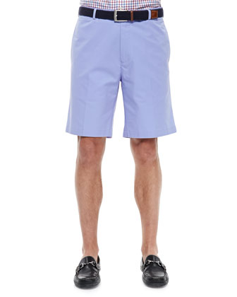 Lightweight Cotton Shorts, Purple