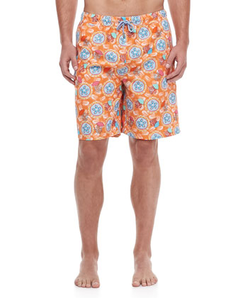 Jellyfish Ballet Swim Trunks