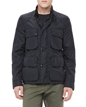Lightweight Field Jacket, Black