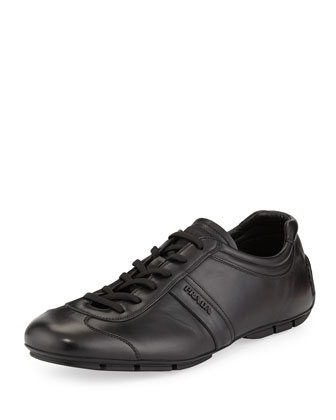 Monte Carlo Low-Profile Leather Sneaker