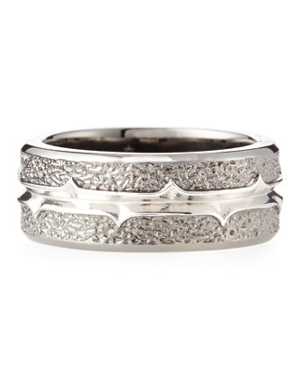 Highwayman Silver-Band Ring