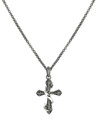 Thorn Cross Men's Necklace