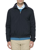 Windmate Reversible Bomber Jacket, Navy