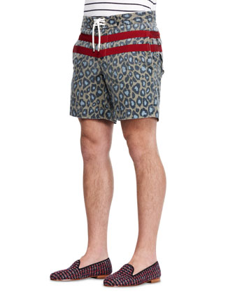 Surf Jam Striped/Printed Swim Shorts
