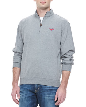 SMU Mustangs Gameday Pullover, Gray