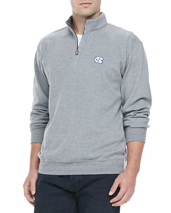 Gameday UNC 1/4-Zip Fleece Pullover, Gray