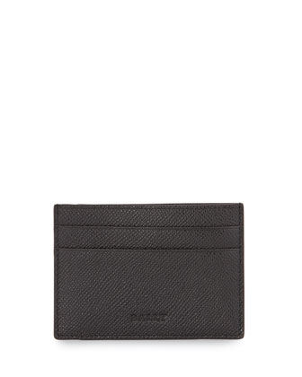 Baclipo Money Clip Card Case, Black