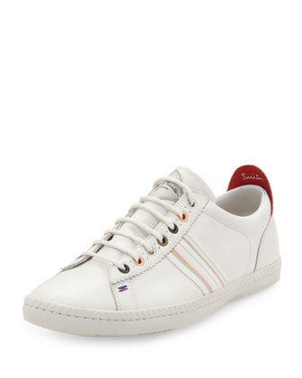 Osmo Leather Low-Top Sneaker, White