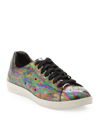 Lepus Solar Metallic Low-Top Sneaker