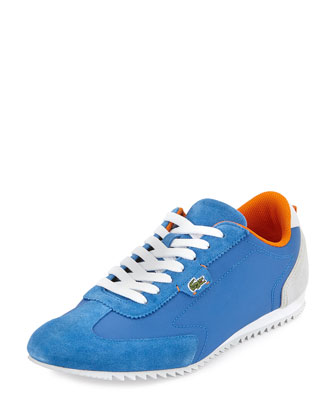 Westcott Mixed-Media Sneaker, Blue