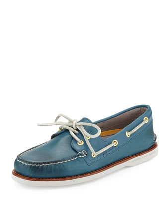 Gold Cup Authentic Original Boat Shoe, Blue