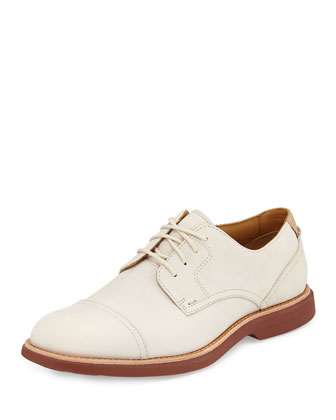 Gold Cup Bellingham Lace-Up Derby Shoe, Ivory