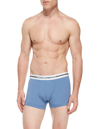 Calcio Boxer Briefs, Blue
