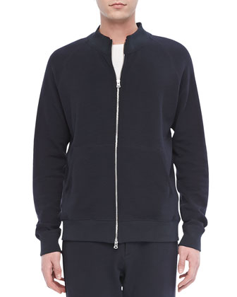 Veton Z Zip Hoodie in Indicative, Eclipse