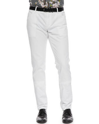 White Washed Denim Jeans