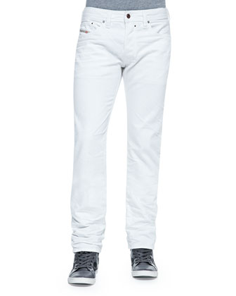 Safado White-Washed Denim Jeans