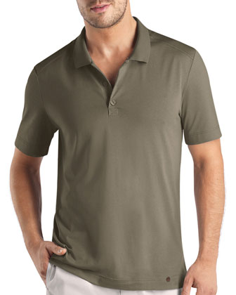 Night & Day Polo Shirt, Khaki