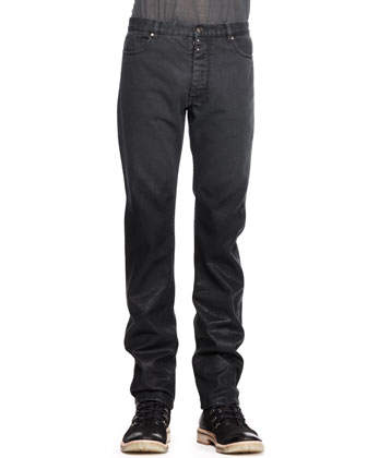 Slim Five-Pocket Degrade Jeans