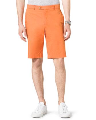 Slim Twill Shorts