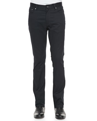 Luxe 5-Pocket Pants, Midnight